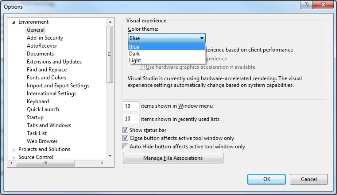 VS2012_options